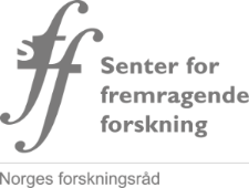 Logo for Sentre for fremragende forskning