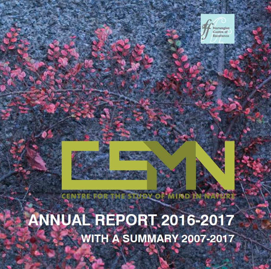 Cover of the annual report 2016-2017 and summary 2007-2017