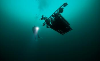 Underwater, Diver, Vehicle