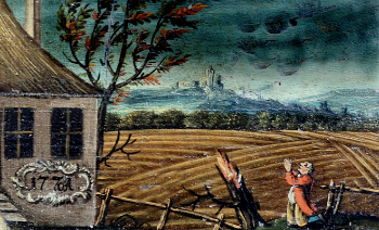 Illustration of the climate anomaly of the 1770s, from 1772