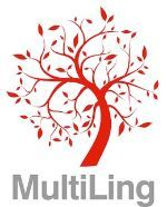 A tree with leaves. Red colour. Illustration. Logo.
