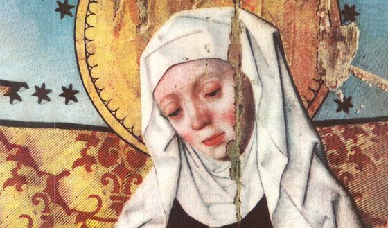Maleri av Den helliga Birgitta