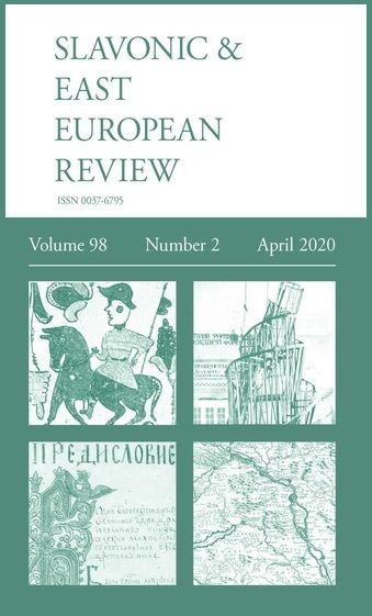 Front page of the Slavonic & East European Review