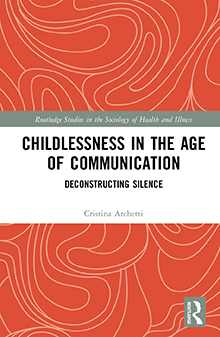 Omslag til boken Childlessness in the age of Communication