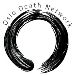Oslo Death Network it says above a round black thing. Logo.
