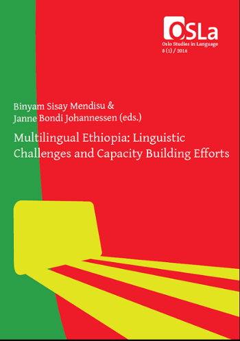 Framside for boka Multilingual Ethiopia
