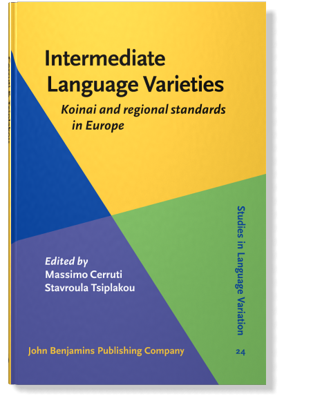 Latest publication: Regional varieties in Norway revisited (pp. 31-54) https://doi.org/10.1075/silv.24