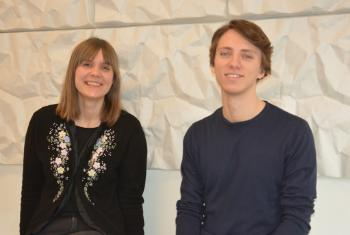 Malene Bøyum og André N. Dannevig are new MultiLing research assistants (photo: UiO)