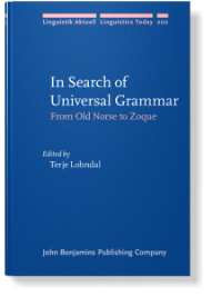 In Search of Universal Grammar: From Old Norse to Zoque front page