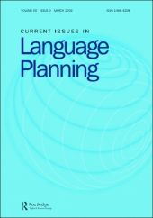 Current Issues in Language Planning front page