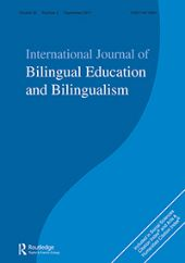International Journal of Bilingual Education and Bilingualism front page