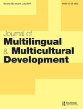 Journal of Multilingual and Multicultural Development front page