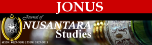 Journal of Nusantara Studies front page