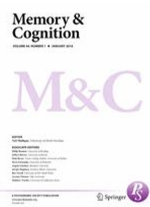 cover of memory and cognition