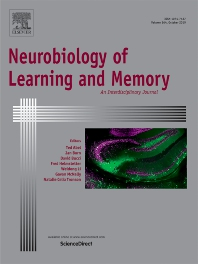 Cover of Neurobiology of Learning and Memory
