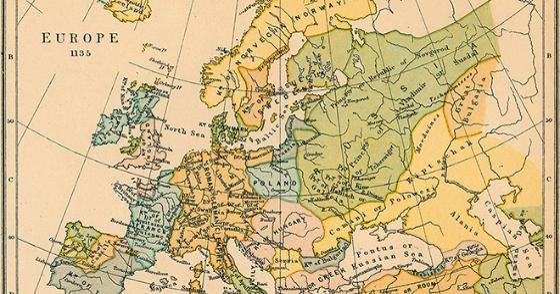 Europakart fra middelalderen