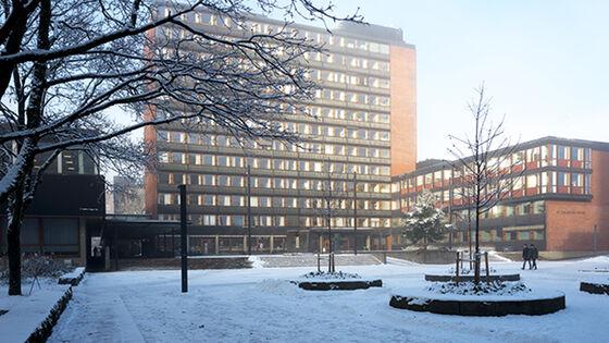 Det humanistiske fakultet om vinteren